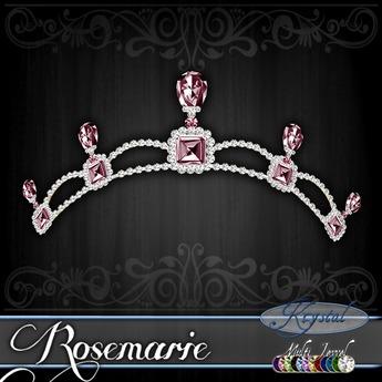 ::: Krystal ::: Rosemarie - Tiara (MultiJewel)