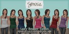 .: Somnia :. Lazy Beater Tanks {Boxed}