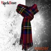 BlackRose Scarf Royal Tartan Red