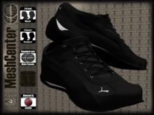MESHCENTER - Titan sport shoes black gray MAN