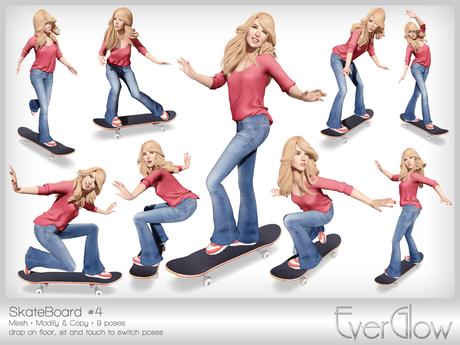 *EverGlow* - Skateboard #4