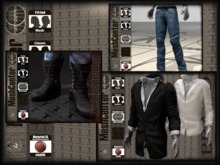 MESHCENTER - Bradd full outfit Jacket, Eagle jeans and Sohoo boots