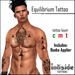 Inkside Tattoos - Equilibrium Tattoo with lolas applier