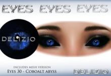 Delizio - Coboalt Abyss eyes