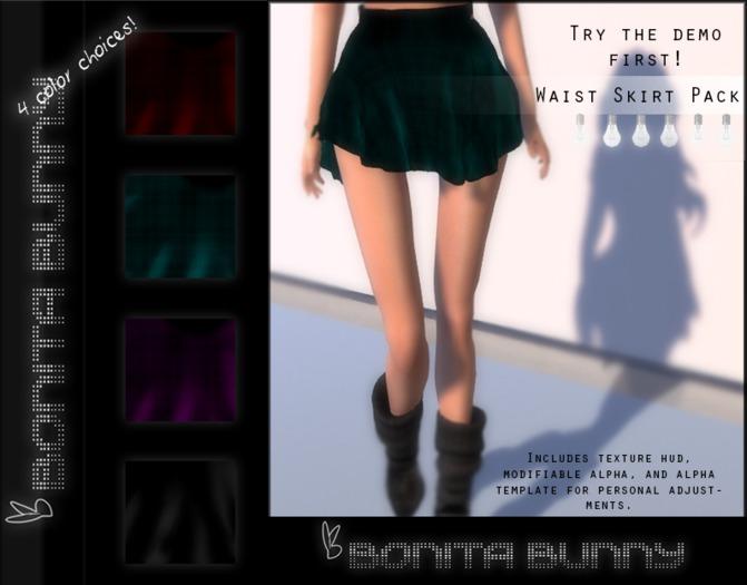 Bonita ::: Waist Skirt (wear to unpack) Freebie/gift