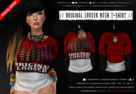 [ ADD ME ]:: LOOSER :: Original_Looser_Hoodie // Welcome GIFT