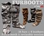 PFC~Fur boots