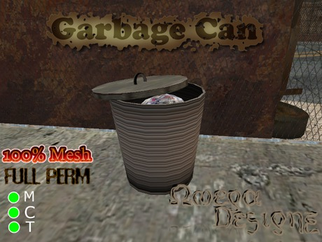 Garbage Can (Mesh)- Full Perm