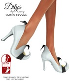 Ruxy-Dilys Mesh Shoes For Slink Mid Feet white black