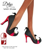 Ruxy-Dilys Mesh Shoes For Slink Mid Feet black red