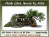 Mesh Cave House By Felix 20 Prim=20x15m Size copy-mody