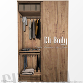 =EliBaily= Smith Wardrobe _Light Wood PG