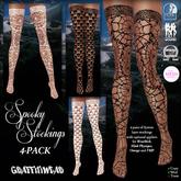 Graffitiwear Spooky Stockings 4-Pack