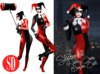 SD siliconedoll - Harley Quinn Complete Mesh Outfit