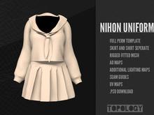 Topology - Rigged Fitmesh Full Perm Nihon Uniform