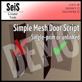 Simple Mesh Door Script DEMO