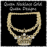 Queen Necklace Gold