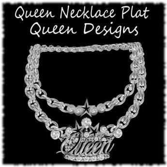 Queen Necklace Plat