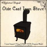 [DDD] Olde Cast Iron Stove