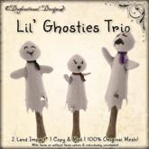 [DDD] Lil' Ghosties Trio