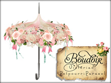 Boudoir-Victorian Parasol-Potpourri