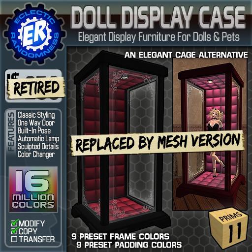 ER Doll Display Case [Retired]