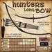 Hunters Long Bow (Spell Fire)