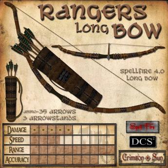Rangers Long Bow (Spell Fire)