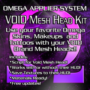 OMEGA System Kit for Void Mesh Heads