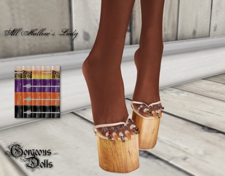 ~GD~All Hallow's Lady(Pedi) - TheMeshProject  OUCH Feet