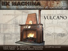 Vulcano Fireplace