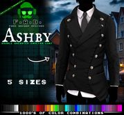F.A.D. // Ashby Euro Styled Double Breasted Coat DEMO - Materials