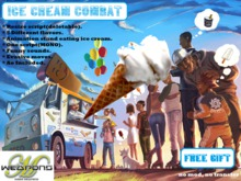[MODE WEAPONS]Ice Cream Combat v1.3 (FREE GIFT)