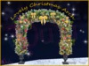 susu-christmas arch with golden balls - copy-mody-*merry Christmas