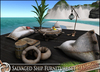 HeadHunter's Island - Salvaged Ship furniture set v1.2 - White&Black fabrics - 54+ multianimations - drink giver