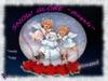 "SuSu -Snow Globe ""Angel"" - animated"