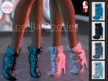 Bens Boutique - Lorella Booties Blue Pack