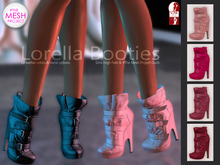 Bens Boutique - Lorella Booties Pink Pack