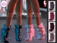 Bens Boutique - Lorella Booties Purple Pack