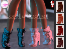 Bens Boutique - Lorella Booties Red Pack