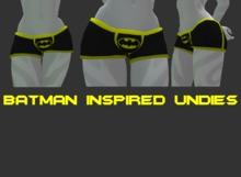 Batman Inspired Undies Texture Mod