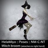 HelaMiyo :: Gift :: Halloween witch broom