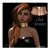 Abuk Necklace 'copper' (mesh) - Bokeh