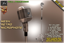 D.G. Mesh Retro Microphone -FULL PERMISSION-