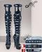 Sky - HUD Tenacious Boots Blue