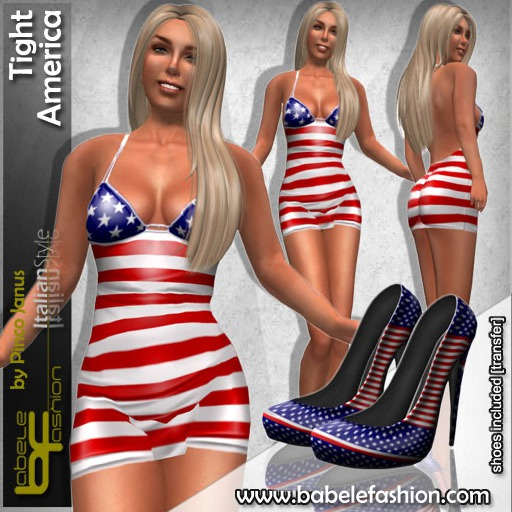 Babele Fashion :: Tight America