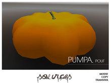 """""""PUMPA"""" Pouf Sweet Pumkin ORANGE by """"Sources""""  PG - MESH - BOX - Copy"""