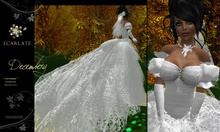 (DEMO) Dress Mariage - Wedding Formal Gown  - Decembery