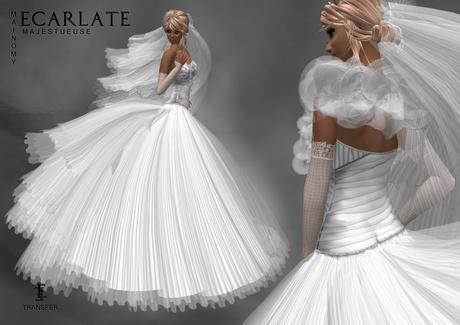 (DEMO - LG) Dress Mariage - Wedding Formal Gown  - Mainomy