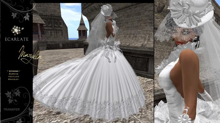 (DEMO) Ecarlate - Marylin - Dress Mariage Wedding Bridal Gown